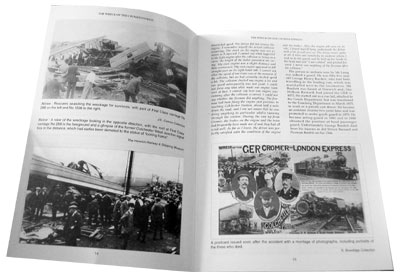 pages from the book the wreck of the cromer express